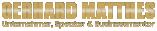 Gerhardt Mattes Logo